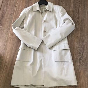 Banana Republic khaki coat